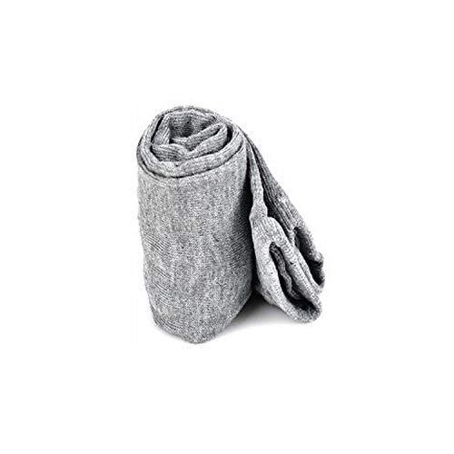 Gloves Stretchy Soft Arm Warmer Long Sleeve Fingerless Gloves,Gray