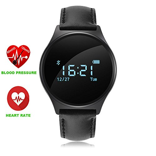 Smart Watch Bluetooth 0.96' OLED Touch Screen Bracciale Sportivo Fitness Activity Tracker Impermeabile Orologio Smartphone