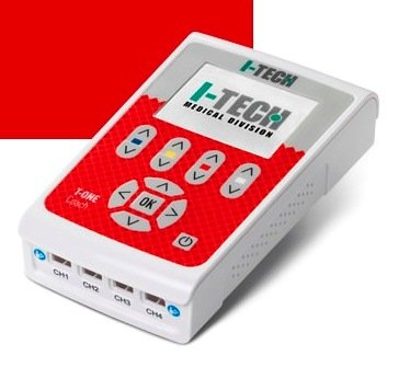 ELETTROSTIMOLATORE I-TECH T-ONE COACH - 4 CANALI - 48 PROGRAMMI + 10 PROGRAMMI DOPPIO UTENTE - Dispositivo medico CE 0476