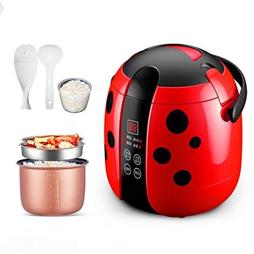 GAYBJ 1.2L Mini Cocina de arroz al Vapor, 200W eléctrica vaporera Box...