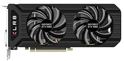 PNY GeForce GTX 1060 6GB XLR8 Gaming Overclocked Graphics Card...