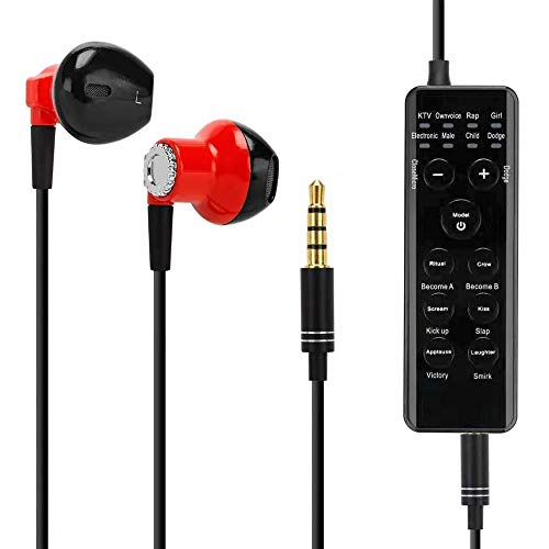 Cheapest Price! Muslady Voice Changeable Smart BT Sound Card Headset Voice Changer with 7 Sound Effe...