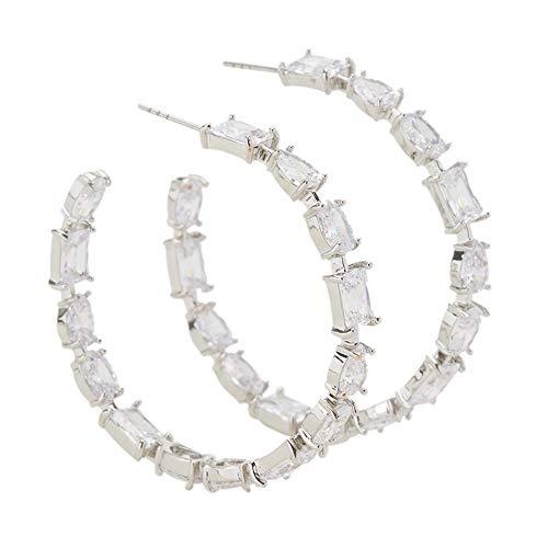 Parfois - Pendiente Sparkling Earrings - Mujeres - Tallas Única - Plateado