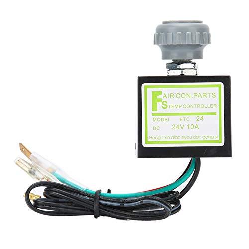 Controllo della temperatura del condizionatore d'aria, interruttore della temperatura dell'aria condizionata, interruttore del termostato elettronico del condizionatore d'aria dell'auto da (24V)