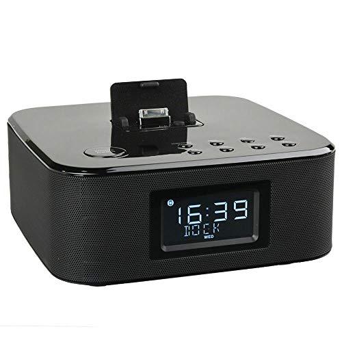 TEVION Radiowecker RWi 313 iPhone Dock Uhrenradio LCD PLL dimmbar Snooze/Sleep