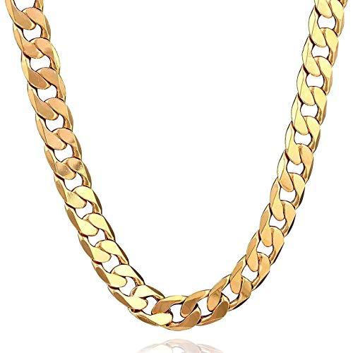 Mode Männer Halskette Exquisite Boy Armbänder Universal Männer Anhänger Tragbare Charming Party Ornamente (Gold) DEjasnyfall
