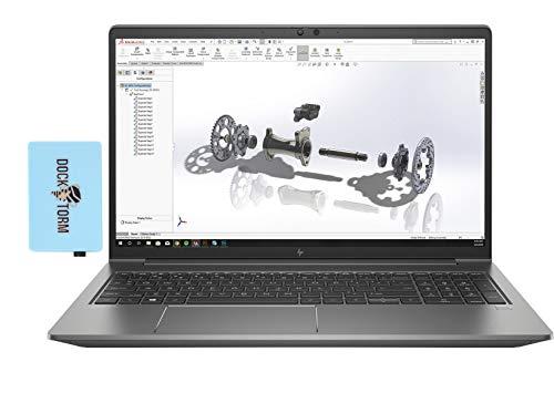 HP ZBook Power G7 Workstation Laptop (Intel i7-10750H 6-Core, 32GB RAM, 512GB PCIe SSD, Quadro P620, 15.6' Full HD (1920x1080), Fingerprint, WiFi, Bluetooth, Webcam, Win 10 Pro) with Hub