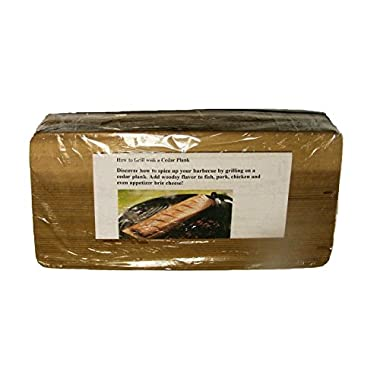 Wood Fire Grilling Co. Grilling Planks - Bulk - 30 Pack - 2-4 Servings (5 x11 ) (Cedar)