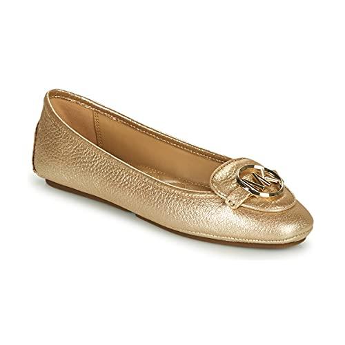 MICHAEL Michael Kors Lillie Moc Baleriny Kobiety Złoty - 35 - Baleriny Shoes