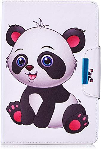 Universal Case for 7' Tablet, Protective Cover for iPad Mini 4/3/2/1, Galaxy Tab A 7 Inch/Tab 3 Lite 7.0, Huawei MediaPad T3 7', Kobo Aura H2O 2nd Edition, Lenovo Tab 3 7 Essential, Unicorn (Panda-1)