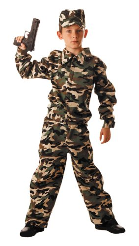 Party Pro Military Déguisement 87117846 Multicolore