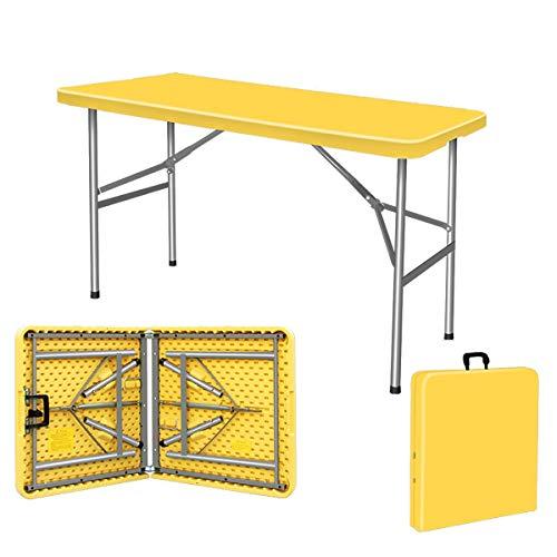 ZZZR Mesa Plegable portátil, sin Necesidad de Instalar Fácil de Usar/Almacenamiento Mesa de Camping y Utilidad Ajustable en Altura 2 para Mesa de Picnic de Senderismo al Aire Libre