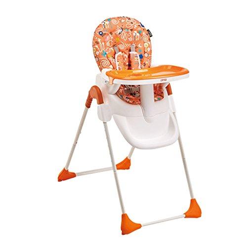 QARYYQ Opvouwbare draagbare baby van de eetkamertafel kinderstoel, het zitje is een hoge stoel