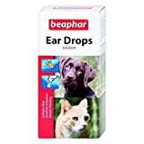 Beaphar Ear Drops for Dogs/Cats, 15 ml
