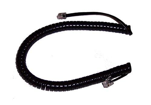 Avaya 9 Ft. Black Handset Cord for Partner 6, 6D, 18, 18D, 18D Series 2, 34D, 34D Series 2 Phones -  Avaya-Handset-Cord