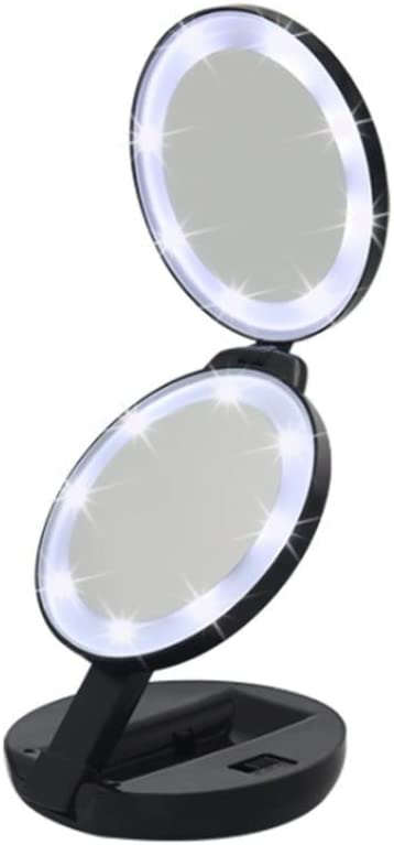 BINGFANG-W Now free shipping Mirror Led Makeup Portable Vanity Albuquerque Mall Dual