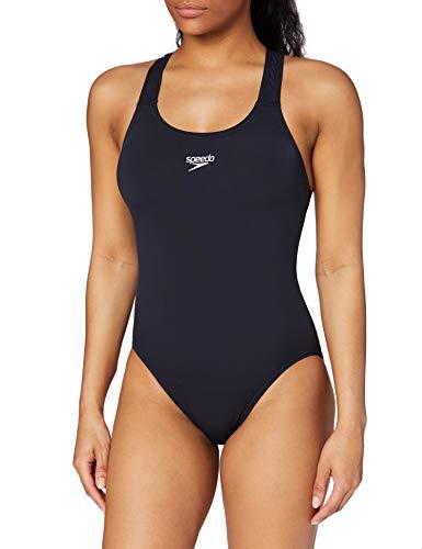 Speedo Damen Badeanzug Essential Endurance Plus Medalist, Navy, 36