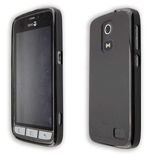 caseroxx TPU-Hülle für Doro 8030/8031, Handy Hülle Tasche (TPU-Hülle in schwarz)