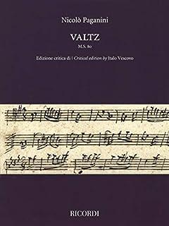 Valtz M.S. 80: Critical Edition by Italo Vescovo Violin Solo