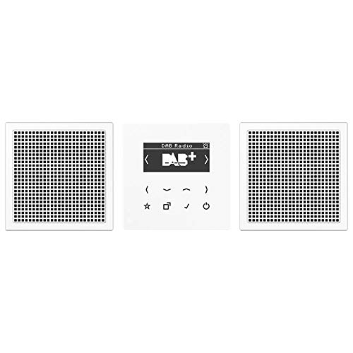 Jung Smart Radio DAB+ DABLS2WW Set Stereo Radio 4011377172470