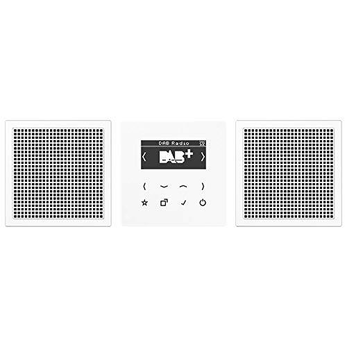 Jung Smart Radio DAB+ DABLS2WW Set Stereo Radio 4011377172470