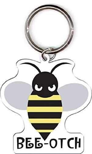 Evilkid Productions - Bee-otch Bumblebee - Metal Keychain