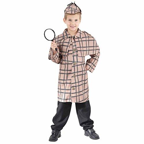 Sherlock Holmes - enfants Costume de déguisement - Medium - 122 à 134cm