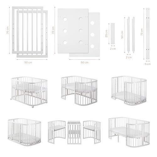 COMFORTBABY® Erweiterungs Paket für das mitwachsende Newborn SweetDream 10in1™ für die Kinder bis zu 4 Jahre (Erweiterung)