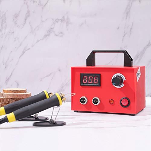 S SMAUTOP Brandmalerei, 23-tlg Holzverarbeitungs-Tool-Kit mit einstellbarem Doppelstift und Digitalanzeige (100 W)