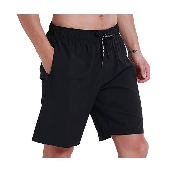 HOdo Mens Swim Trunks Quick Dry Beach Shorts Bathing Suits with Mesh Lining