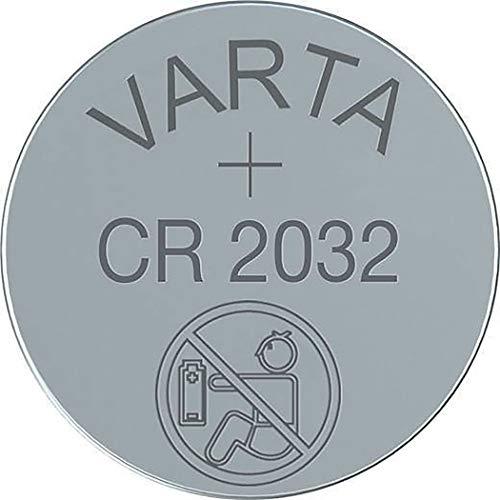 VARTA CR2032 Lithium Knopfzelle 3 Volt im Original VARTA Tray Pack, 20 Stück