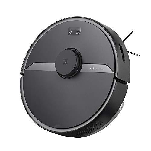 Roborock S6 Pure Robot Vacuum and Mop, Multi-Floor Mapping, Lidar Navigation, No-go Zones, Selective...