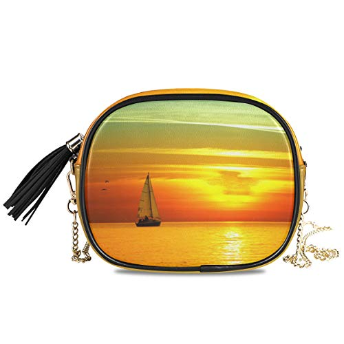 MontoJ Hot Colors Of The Sun Beau motif coucher de soleil pour femme