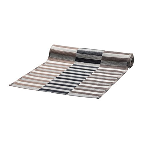 Ikea mittbit Tischläufer Schwarz Beige Weiß Größe 14x 51803.435.70