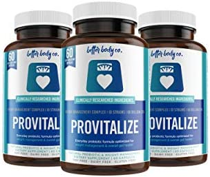 Provitalize Best Natural Weight Management Probiotic 3 Bottles product image