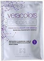MH COSMETICS Mh Cosmetics Veracolors Decoplex Polvo Decolorante Capilar Con Plex G, 40 Gramo