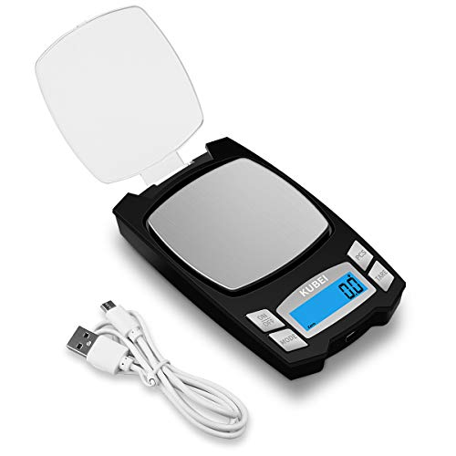 KUBEI RECHARGEABLE DIGITAL POCKET SCALE