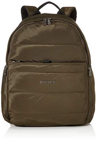 Bogner Damen Meribel Tilo Backpack Lvz Rucksack, Braun (Khaki), 15.5x48.5x35 cm