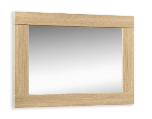 Julian Bowen Strada - Specchio da Parete, Colore: Quercia Chiaro/Grigio