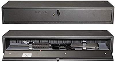 Secure It Gun Storage Fast Box Model 40- A Hidden Gun Safe, Protect Your Guns with Electronic Lock and All Steel Construction. Easy Access with Quick Release, Perfect for Under Bed, Vehicle, Cabinet