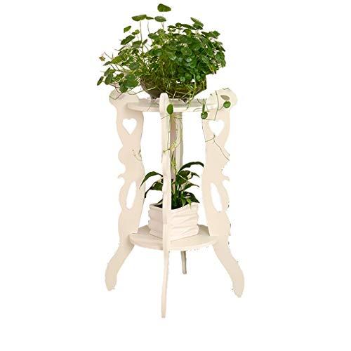 YINUO Étagère de fleurs multicouche accueil simple intérieur nordique sol-salon salon charnue vert pot de fleur balcon étagère