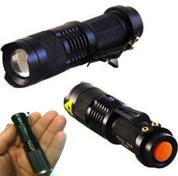 MINI TORCIA LED 3W LUCE BAILONG HL68 RICARICABILE LED 5000 LUMEN POLICE