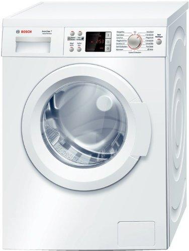 Bosch WAQ28441 Waschmaschine Frontlader Avantixx 7 / A+++ / 1400 UpM / 7 kg / VarioPerfect / Sportswear-Programm