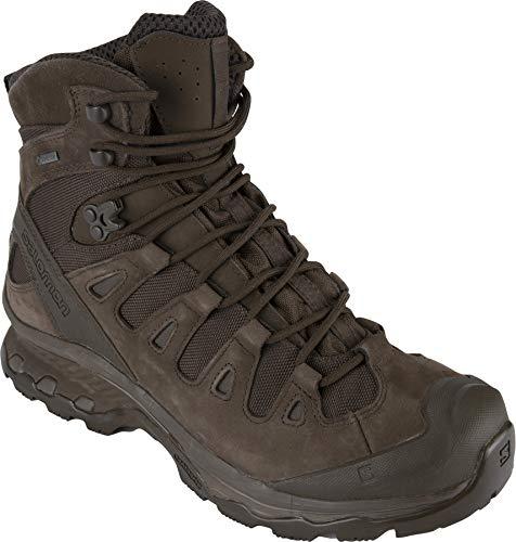 Salomon Unisex Quest 4D GTX Forces 2 EN Boots, Slate Black/Slate Black/Slate Black, 10