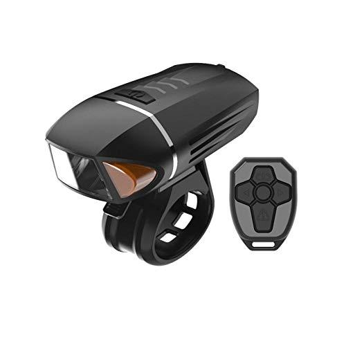 meiyou Bike Light Set Intelligente Fernbedienung Mountainbike-Scheinwerfer mit Deutscher Vorschrift Nachtfahrten im Freien mit USB-Lade-Fahrradscheinwerfer