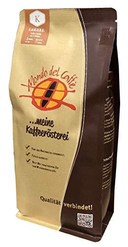 F.U.R.O.R.E. (Furore) Premium Kaffee 500 gr. für den Vollautomaten | ganze Bohne mittelkräftig Bohnenkaffee mit wenig Säure | 100% Arabica Blend | fair & direkt gehandelt | frisch & schonend geröstet
