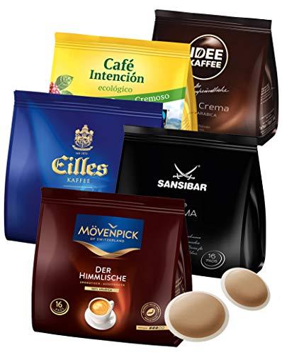 J.J. Darboven Kaffeepads Testset 5 x 16er (560 g)