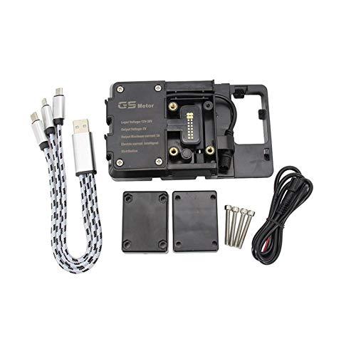 Marcos nuevo soporte de navegación motocicleta ajuste para BMW R 1200 RT 2013 2012 2011 2010 R1200RT GPS navegador USB carga teléfono titular
