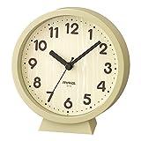 MAG(マグ) 置き時計 アナログ コンポート 静音 連続秒針 置き掛け兼用 ナチュラル W-770N-Z