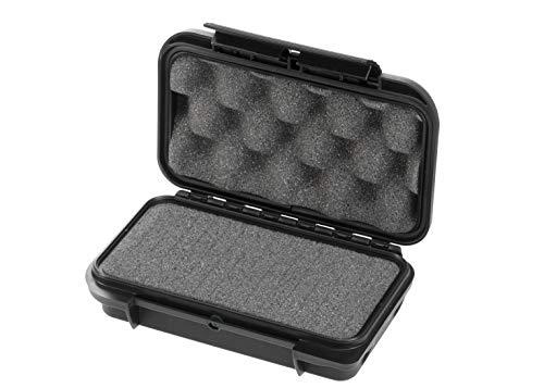 MAXCASE(マックスケース) 防水ケース 軍用規格適合 防水IP67・対気圧変化・耐熱対冷-30~90℃ ウレタン緩衝材 S M001V-BK